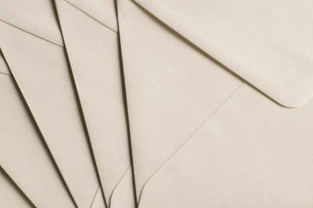 close up envelopes paper